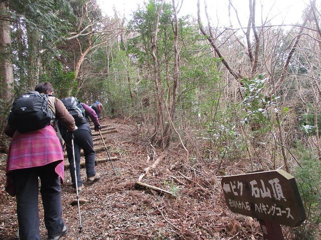 画像7: 1月8日に岡田ガイドと静岡県にたたずむ 石谷山 へ行って来ました♪
