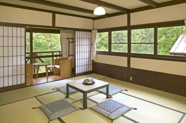画像: 個室利用できる和室