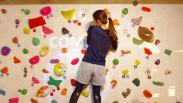 画像: ARボルダリング体験!【地球を守ろう】 VILLARS Climbing 有明 www.youtube.com