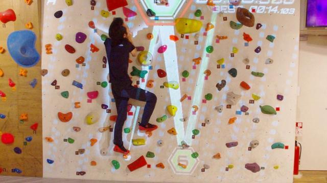 画像: ARボルダリング体験!【数字追いかけっこ】 VILLARS Climbing 有明 www.youtube.com