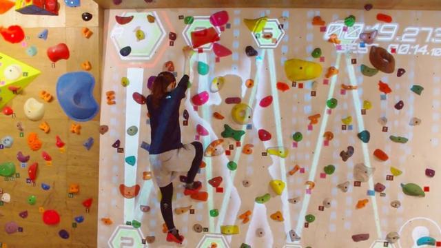 画像: ARボルダリングを体験!【数字追いかけっこ】 VILLARS Climbing 有明 www.youtube.com