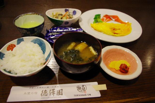 画像1: 朝食(一例)