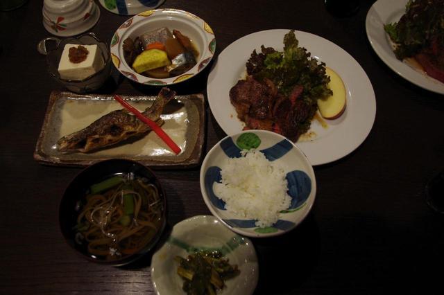 画像1: 夕食(一例)