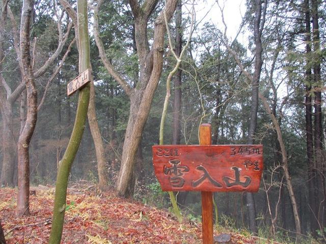 画像8: 3月4日に岡田ガイドのコースで、茨城県の 雪入山 へ行って来ました♪