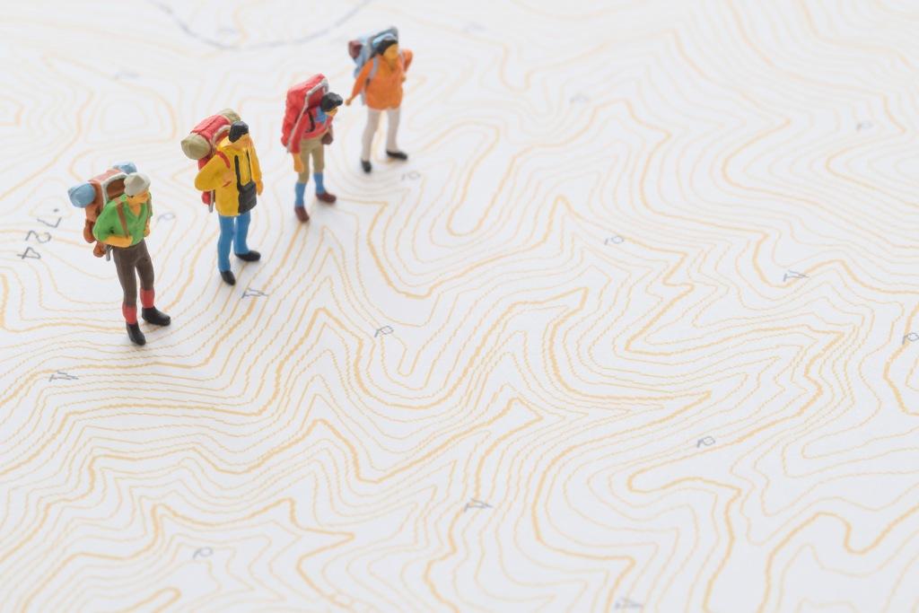 画像: ゴールデンウィーク山の学校 山をイメージしよう!地図の読み方・基礎講座 (9:30~11:00/13:30~15:00)