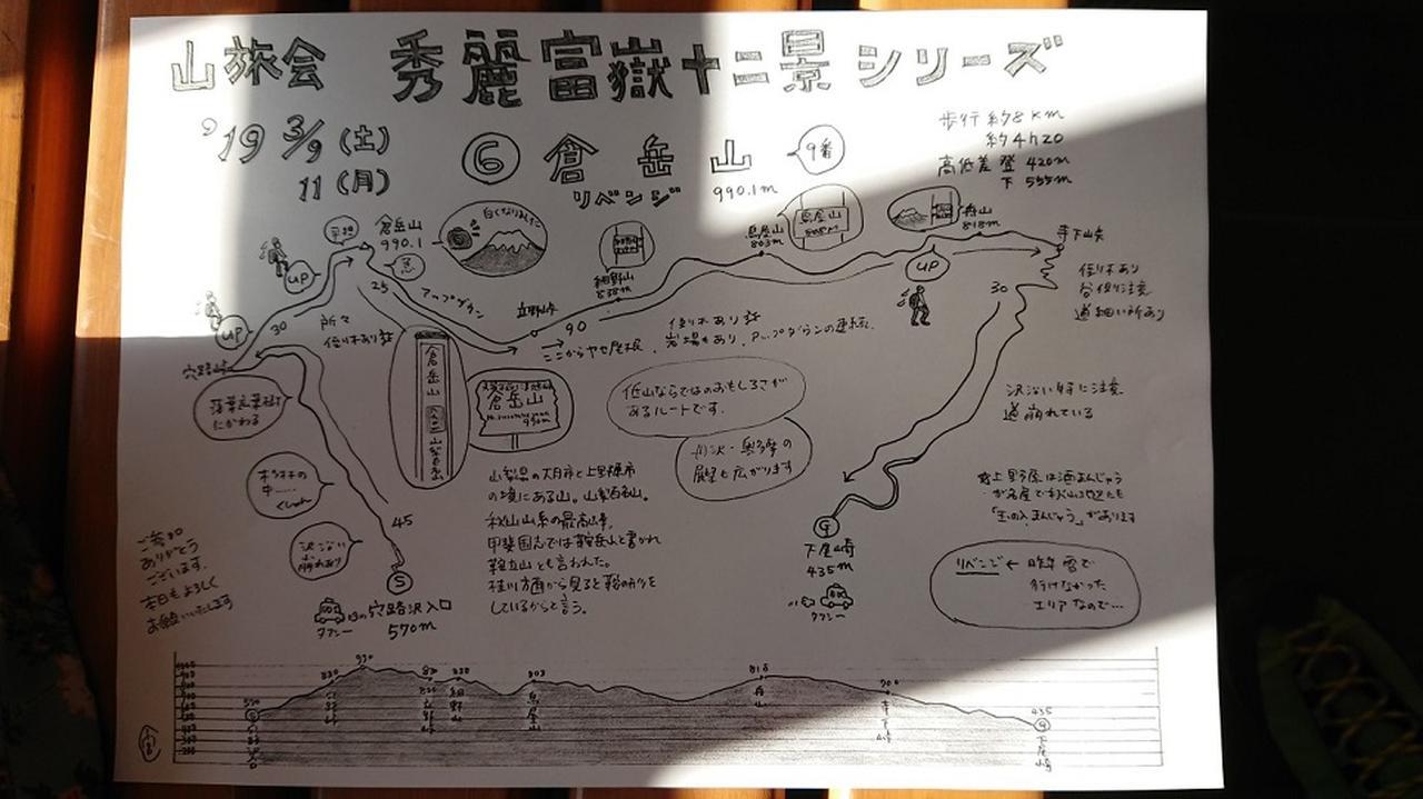 画像10: 3月9日に宮下ガイドと、 倉岳山 へ行ってきました♪