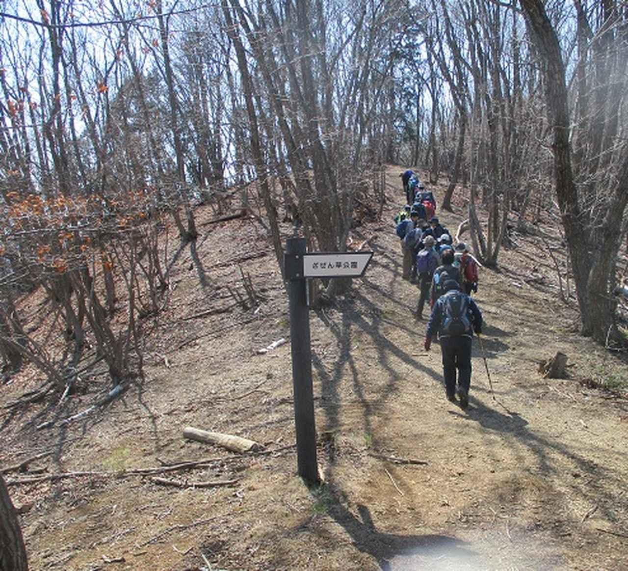 画像4: 3月15日に山旅会 「小倉山」 へ行ってきました!