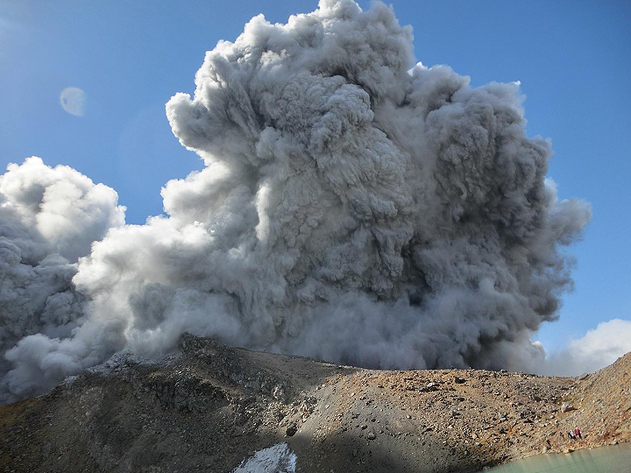 画像2: 御嶽山噴火当時の写真