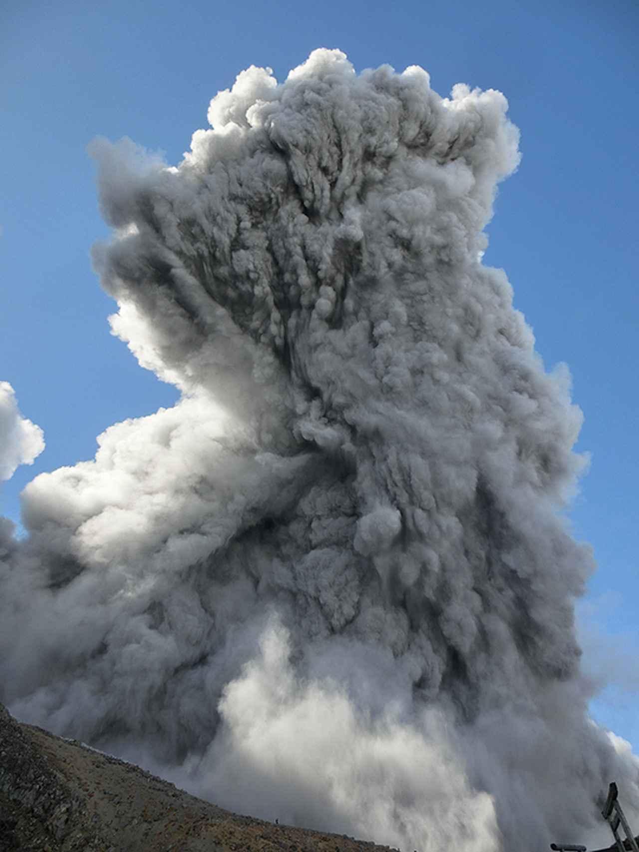 画像3: 御嶽山噴火当時の写真