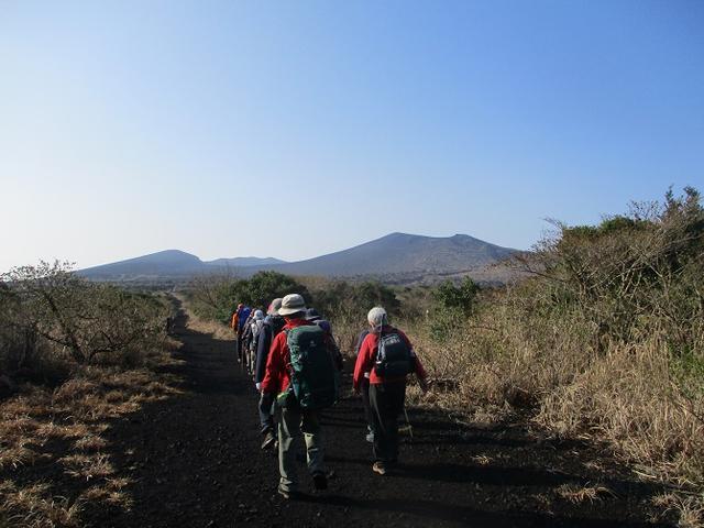 画像1: 【山旅会・登山ガイドこだわりツアー】岡田ガイドからの便り・伊豆大島・三原山ツアーに行ってきました!