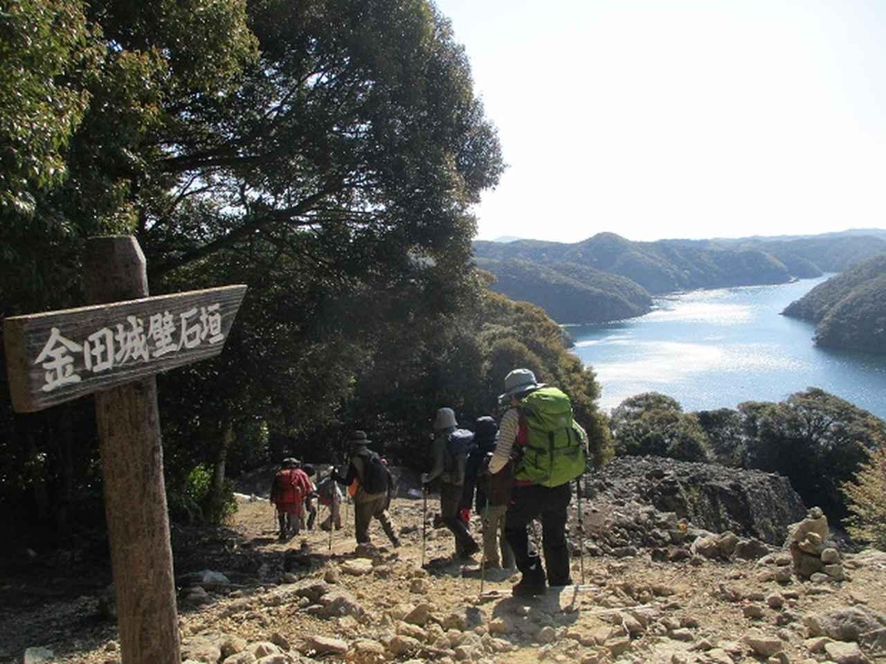 画像2: 対馬ツアー3日目は青空気持ち良い、 金田城山 へ行きました!