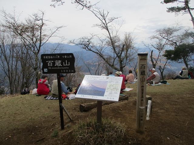 画像7: 4月17日に山旅会 百蔵(ももくら)山 のツアーに行ってきました!