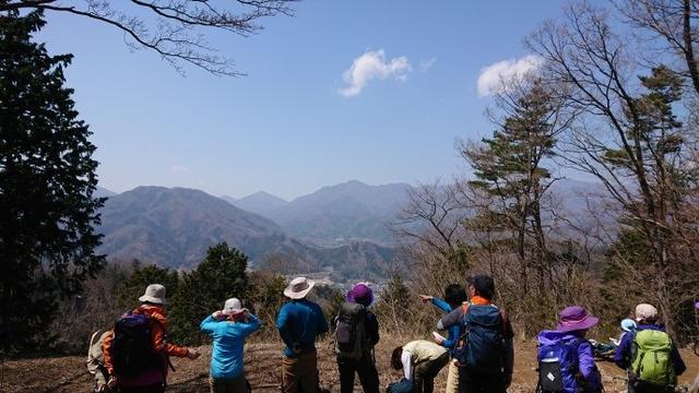 画像5: 4月6日に宮下ガイドと富岳十二景シリーズで 久鬼山 へ行ってきました♪