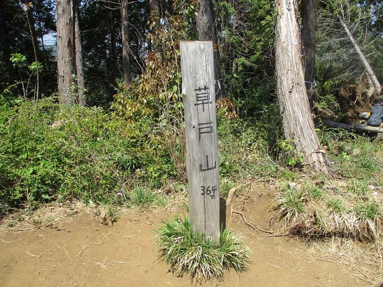 画像12: 4月20日に山旅会 「西山峠から草戸山」 ツアーに行ってきました!