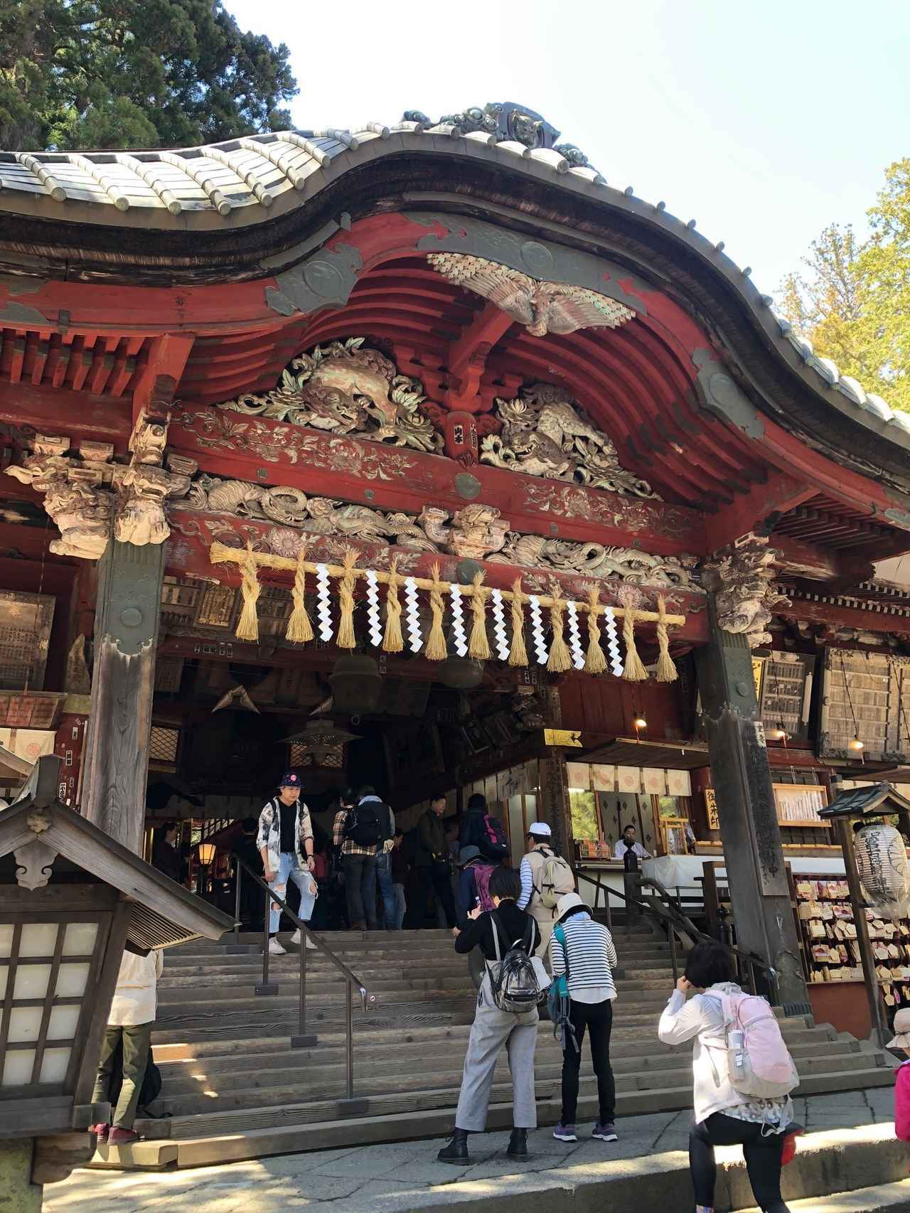 画像: 北口本宮冨士浅間神社・拝殿