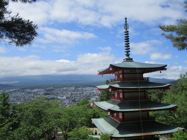 画像6: 岡田ガイドのハイキングコースで山梨県の 新倉山 へ行ってきました♪