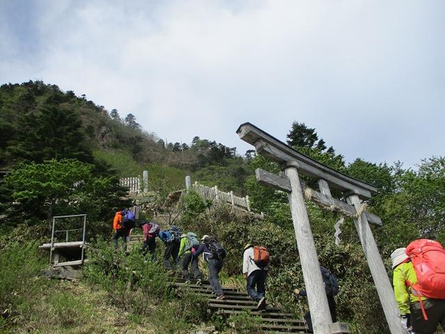 画像5: 5月28日より2泊3日で山旅会 「石鎚山と剣山」 ツアーに行ってきました!