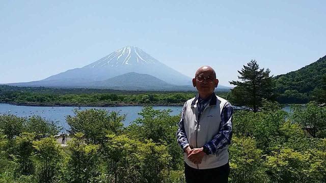 画像: 精進湖にて撮影