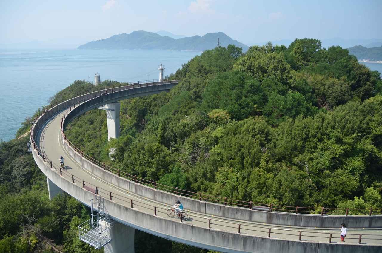 画像: 自転車専用道路もありますよ♪