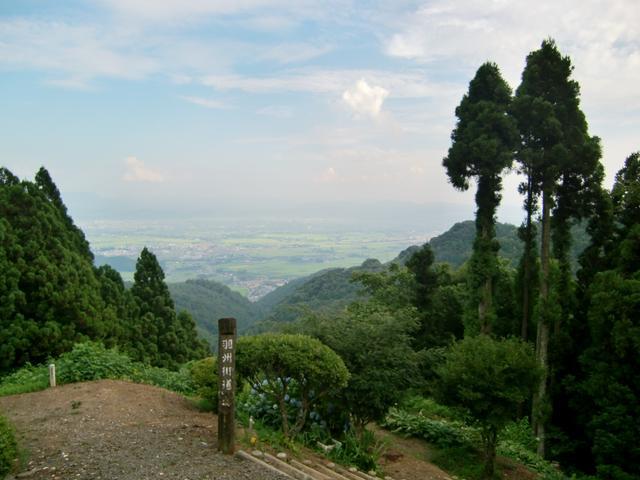 画像: 小坂峠からの眺め(第1回でご案内)