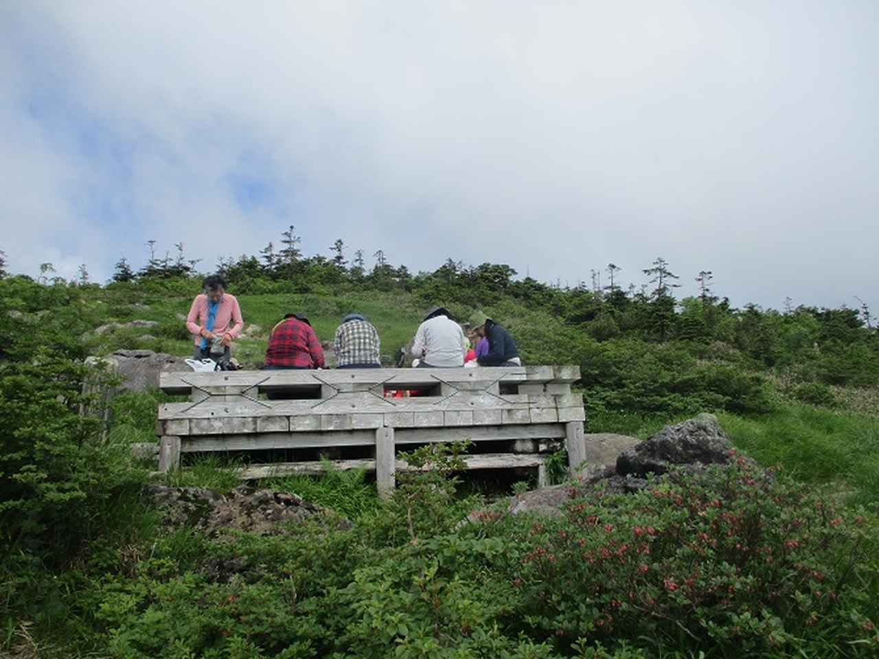 画像3: 7月16日より2泊で山旅会 「三国山と苗場山」 ツアーに行ってきました!