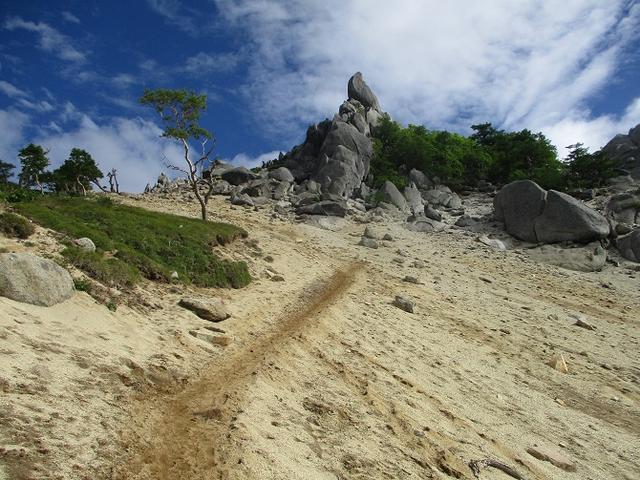 画像4: 来年夏のツアーの素材を探して南アルプスの 鳳凰三山 を歩いてきました♪
