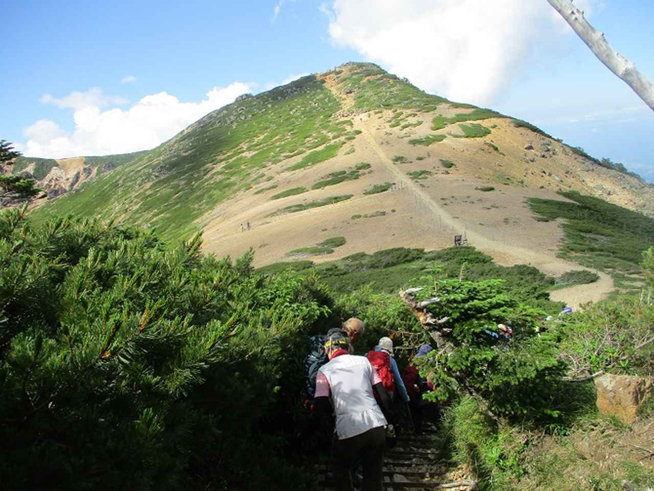 画像7: 【山旅会・登山ガイドこだわりツアー】岡田ガイドからの便り・硫黄岳ツアーに行ってきました!(1日目)