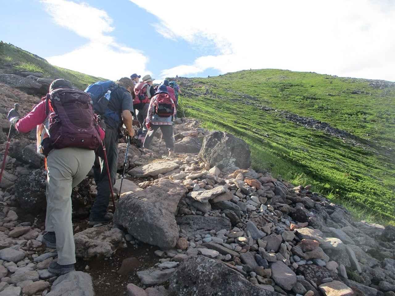 画像6: 8月5日・6日に山旅会 「硫黄岳」 ツアーに行ってきました!
