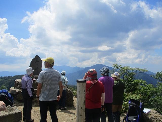 画像8: 8月10日に岡田ガイドのコースで 三つ峠 へ行ってきました♪