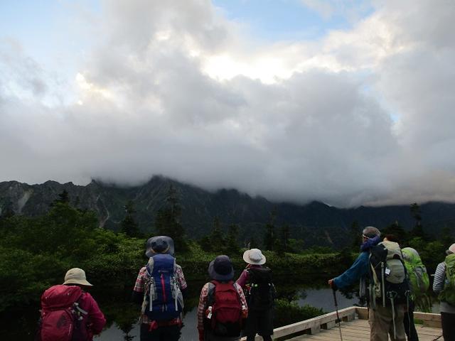 画像2: 8月13日から岡田ガイドのコースで 「ゆっくり歩く鏡平と弓折岳」 に行ってきました!