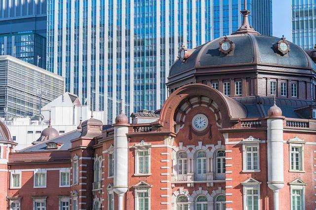 画像: 東京駅。建物も歴史もご案内します(千代田区編)