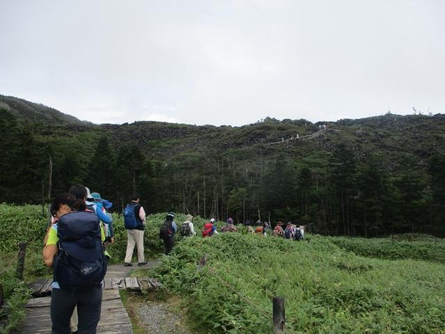 画像2: 先日9月5日に山旅会 「北横岳」 ツアーにいってきました!