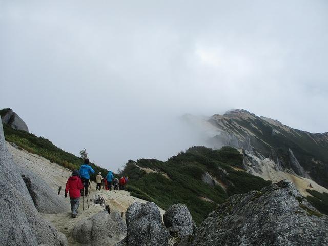 画像12: 9月17日より山旅会 「燕岳」 ツアーに行ってきました!