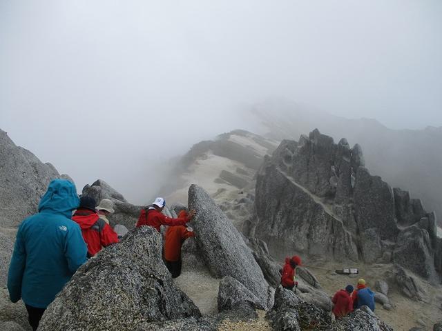 画像10: 9月17日より山旅会 「燕岳」 ツアーに行ってきました!