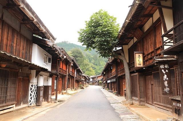 画像: 長野県・妻籠宿(中山道)