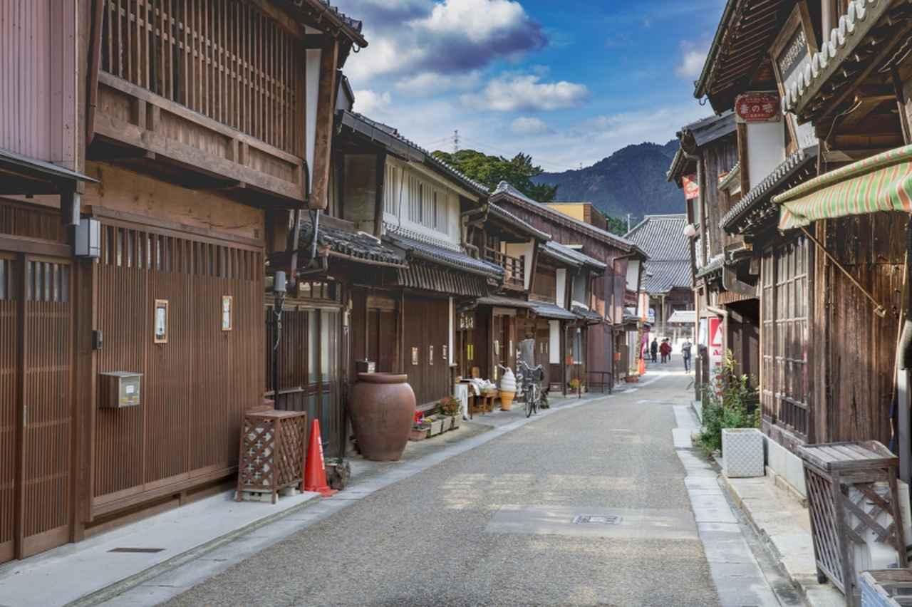 画像: 三重県・関宿(東海道)