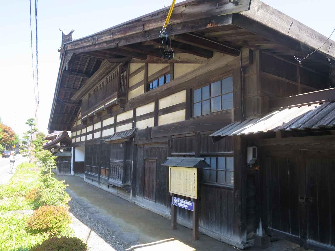 画像: 長野県・小野宿問屋場(伊那街道)