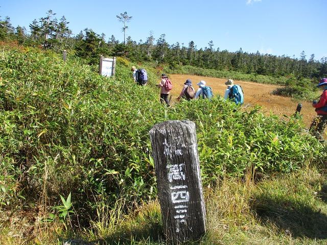 画像1: 9月30日から2日間岡田ガイドのコースで 八幡平・秋田駒ヶ岳 に行ってきました♪