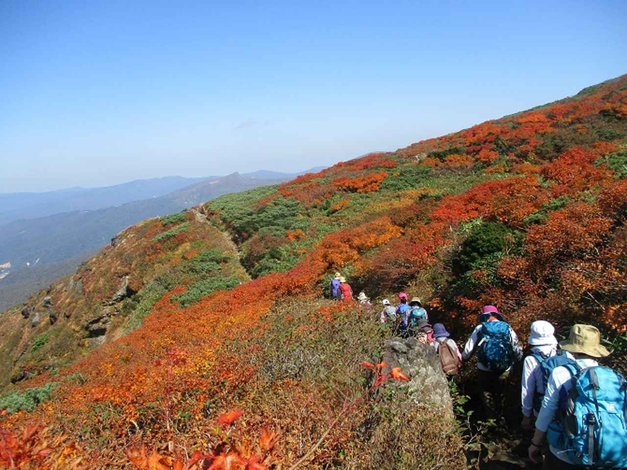 画像9: 9月30日から山旅会 「八幡平・秋田駒ヶ岳」 ツアーに行ってきました!