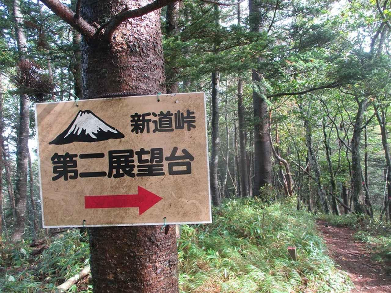 画像8: 10月の山旅会 「御坂黒岳」 ツアーの下見に行ってきました!