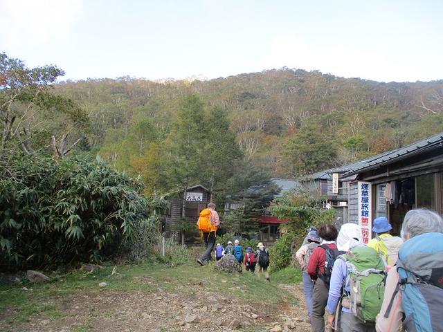 画像7: 10月10日から山旅会 「那須茶臼岳と姥ヶ平」 ツアーにいってきました!