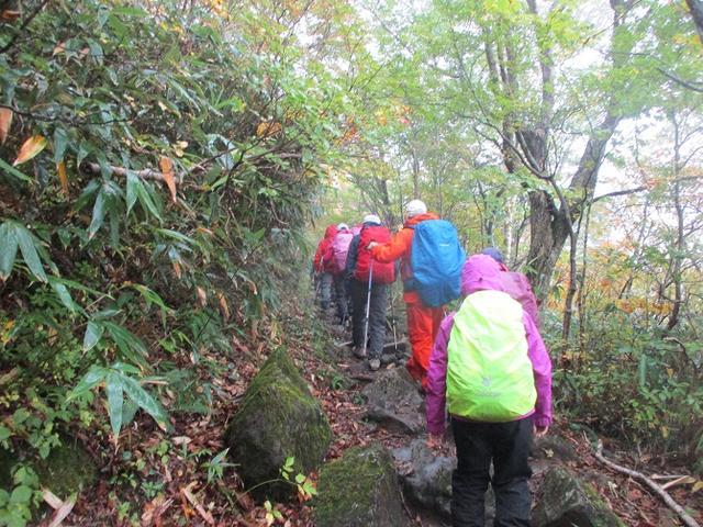 画像1: 10月10日より山旅会 「那須 茶臼岳と姥ヶ平」 ツアーにいってきました!