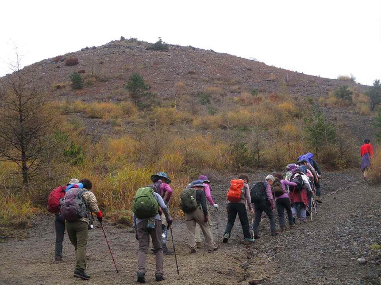 画像6: 先日10月21日に山旅会 小浅間山 に行ってきました♪