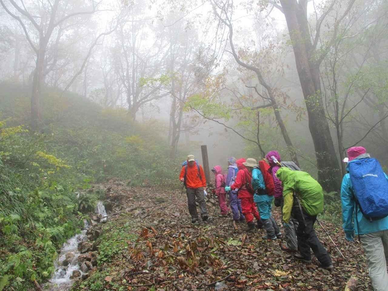 画像2: 10月18日に岡田ガイドのコースで三国山へ行って来ました♪