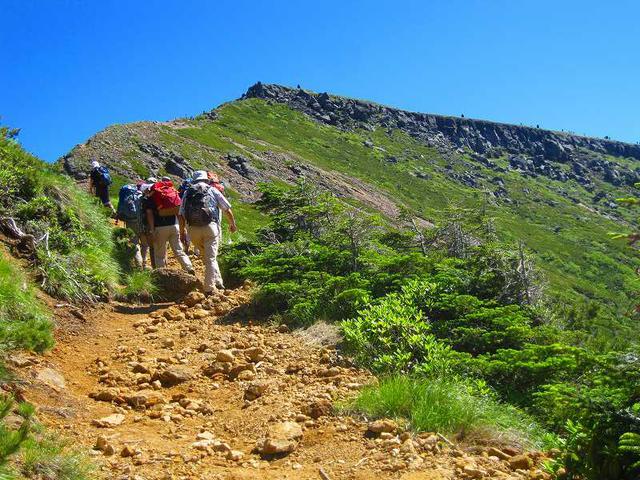 画像: 縦走登山とは「尾根歩き」