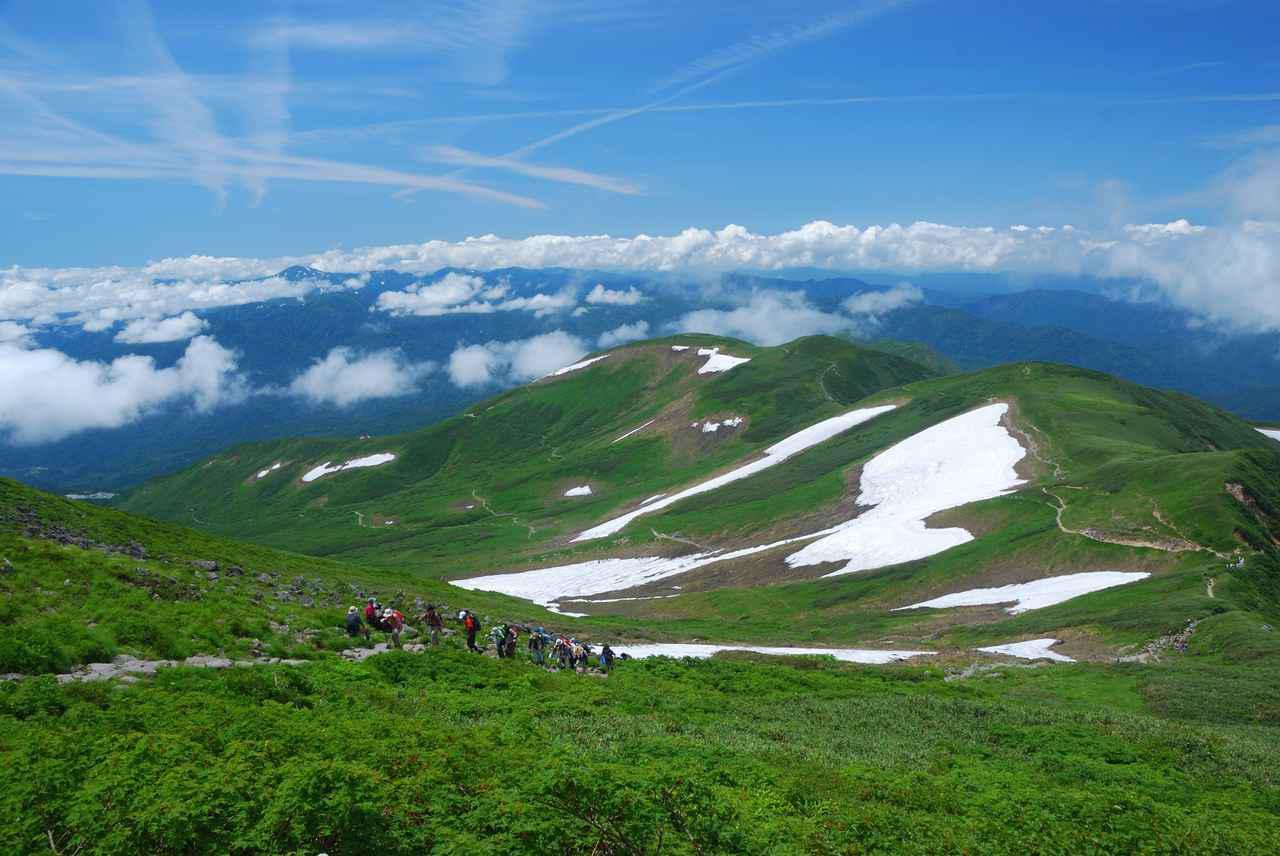 画像: 夏の月山(イメージ)