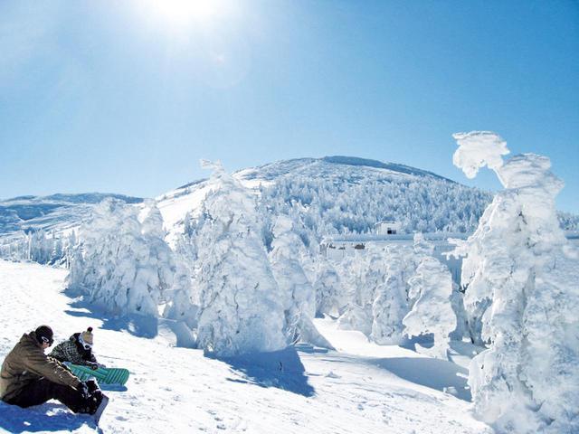 画像: 雪の蔵王(イメージ)