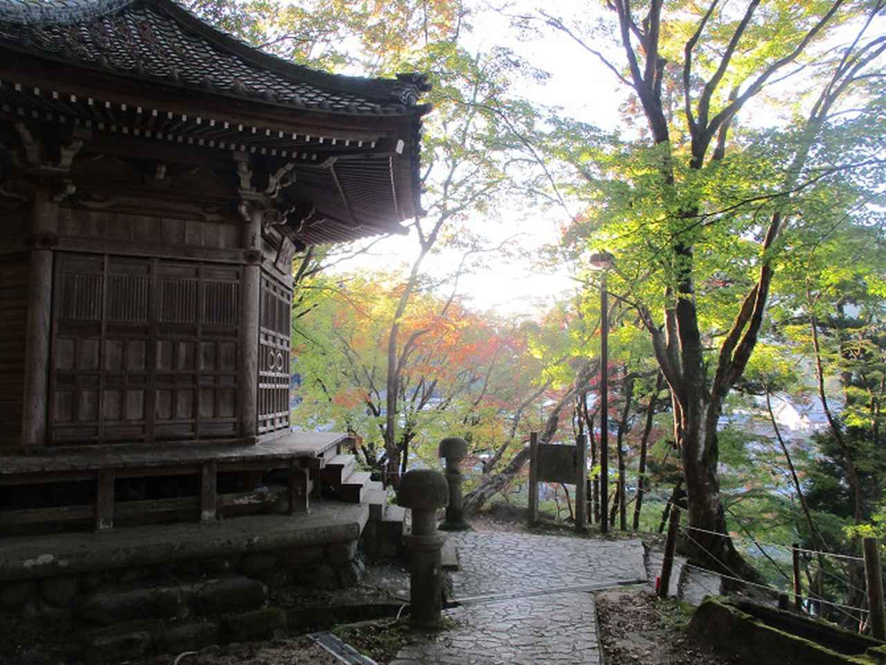 画像5: 11月の山旅会「香嵐渓と鳳来寺山」の下見に行ってきました!