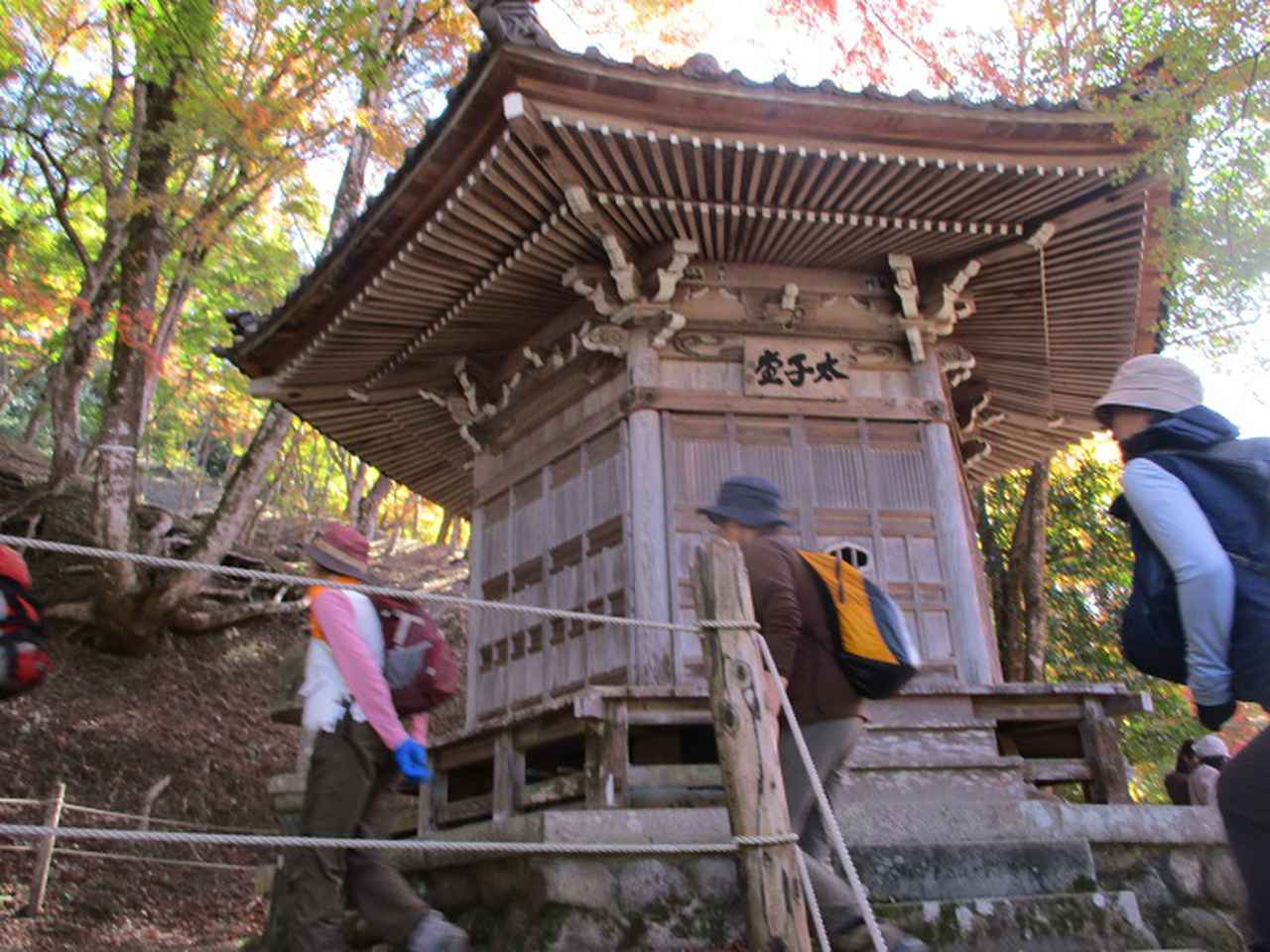 画像5: 11月21日から山旅会 「香嵐渓と鳳来寺」 ツアーに行ってきました!