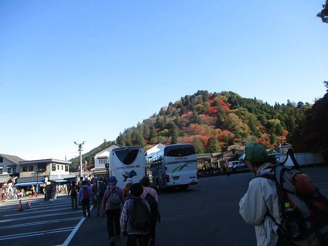 画像1: 11月21日から山旅会 「香嵐渓と鳳来寺」 ツアーに行ってきました!